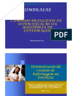 Experiencias Aplicacao Sae Ambito Hospitalar-fabiana Claudia Vasconcelos Franca
