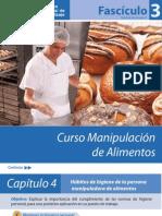 Fasciculo 3 - Folleto Manipulacion de Alimentos