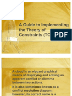A Guide to Implementing the Theory of Constraints