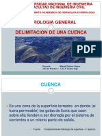 Delimitacion de Una Cuenca