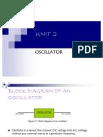 Unit 2 Oscillator
