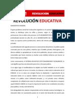 Revolución educativa - Ricardo Alfonsin 2011