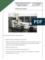 Manual de Operacion (Maquina Tridimencional