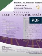 Cartel Doctorado
