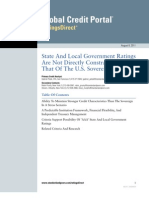 State and Local Government Ratings
