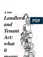 Landlord Tenant Act