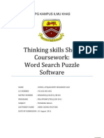 Word Puzzle Software