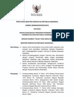 PMK No. 299 Ttg Penyelenggaraan Program Internsip Dan Penemp