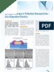 Application Note 3 - Hydrogen Storage in Palladium Nano Particles - Size Dependent Kinetics