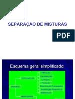 SEPARAÇÃO DE MISTURAS 2