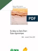 57 - Du Labour Au Semis Direct - Enjeux Agronomiques