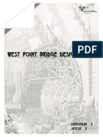 West Point Bridge Designer-A Report by Hariharan