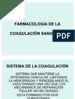 Farmacologia de La Coagulacion