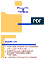 Evaluation of Proptosis Final
