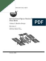 International Space Station Evolution Data Book Vol I Baseline Design Rev A
