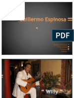 Guillermo Espinosa Dossier
