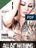 Ink Atlanta Magazine August 2011