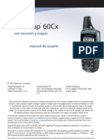 GPSmap 60Cx - Manual de Usuario