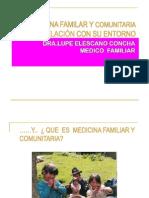 2.2 MEDICINA FAMILAR y Com Unit Aria en Relacion Con Su Entorno