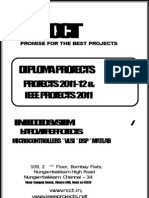 Diploma Embedded Project List - 2011-12 - NCCT