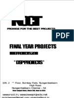 DSP Project Titles, IEEE 2011 Project Titles