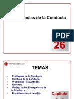 Capítulo 26 - Emergencias de la Conducta
