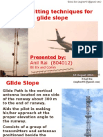 Transmitting techniques of Glide Slope