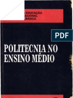 Politecnia no Ensino Médio