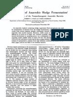 Microbiology of Anaerobic Sludge Fermentation