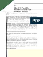 La Miopia Del Mkt, Alumna...