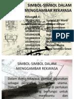 Simbol-simbol Dalam Menggambar Rekayasa
