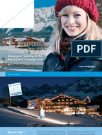 Winter Brochure 2011 / 2012 Hotel Schwaigerhof in Austria, Europe