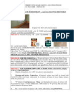 Free Advice on Waterproofing and Other Things