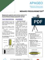 Menard Pressuremeter_Apageo