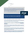 Best Practice News Alert No 145 - Your Family Trust Assets Are No Longer Safe