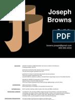 Portfolio of Joseph Browns
