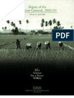 IRRI Annual Report 2002-2003