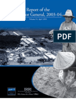IRRI Annual Report 2003-2004