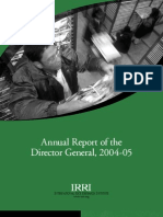 IRRI Annual Report 2004-2005