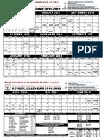 2011 12 Calendar