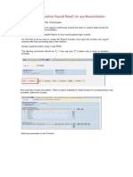 How to Store Simulation Payroll Result for Any Reconciliation