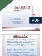 Error Metrics Model Diagnostics APODP Web Workshop 72009 Presentations