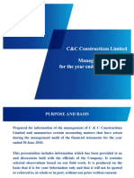 C&C Management Audit June 2010