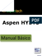 Manual Basico Aspen HYSYS
