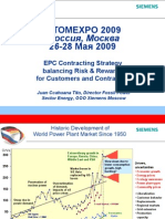 EPC Contracting Strategy balancing Risk & Rewards for Customers and Contractors