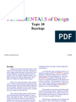 Fundamentals of Bearings