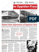The Oppidan Press Edition 4 2011