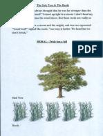 Oak Tree and Miser