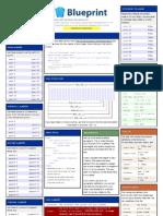 Blueprint Cheat Sheet