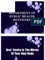 Oral Cavity is the Mirror of Your Own Body